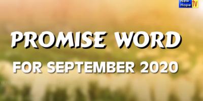 PROMISE WORD for SEPTEMBER 2020